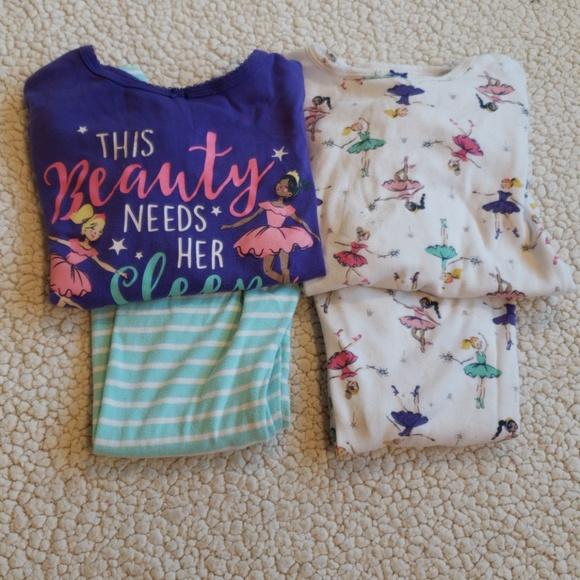 4ddb0d723 Carter's Pajamas | Carters Girls Ballerina 4 Piece Set 5t | Poshmark